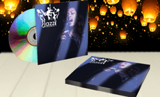 Envelope para CD Metalizado