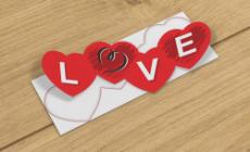 Adesivo para Vitrine Love