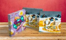 Mini Cartão com Verniz Localizado e Hot Stamping